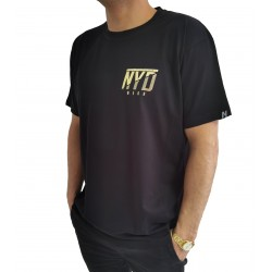 Camiseta Mini Icon Nyd Gold Blk