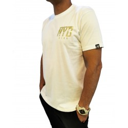 Camiseta Mini Icon Nyd Gold Wht