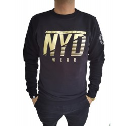 Sudadera ICON Gold Black